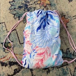 GWP Lilly Pulitzer towel backpack